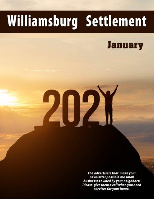 Williamsburg Settlement January 2021