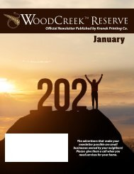 Woodcreek January 2021