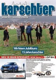 Karschter Stadtmagazin - Ausgabe Januar 2021