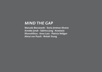 MIND THE GAP - Rivkah Young