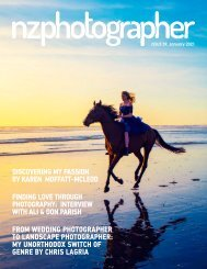 NZPhotographer Issue 39, January 2021