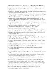 """Bibliographie zur Vorlesung """"Historische ... - Peter Matusseks"""