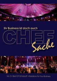 Chefsache 2011 - Volume 2 - Relations For Your Business | Orhideal IMAGE