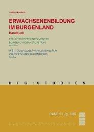 VHS Burgenland - Burgenländische Forschungsgesellschaft