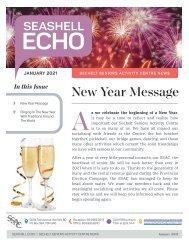 Seashell Echo | January 2021