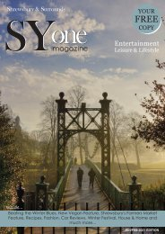 Shrewsbury's SYone New Year Edition 2021