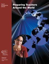 Preparing Teachers Around the World - ETS