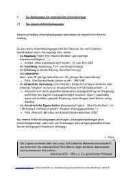 2 Die Bedingungen der menschlichen ... - bommi2000.de