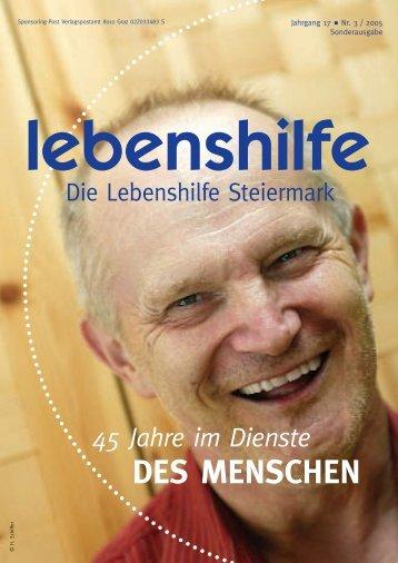 Arbeiten wie andere auch - Lebenshilfe Steiermark
