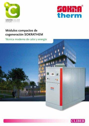 Catálogo comercial Sokratherm CHP - unióncalor