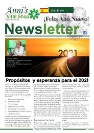 Propósitos  y esperanza para el 2021