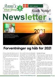 Forventninger og håb for 2021