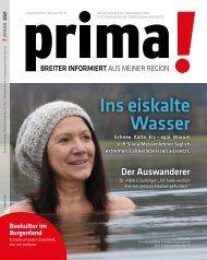 Prima Magazin - Ausgabe Jänner 2021