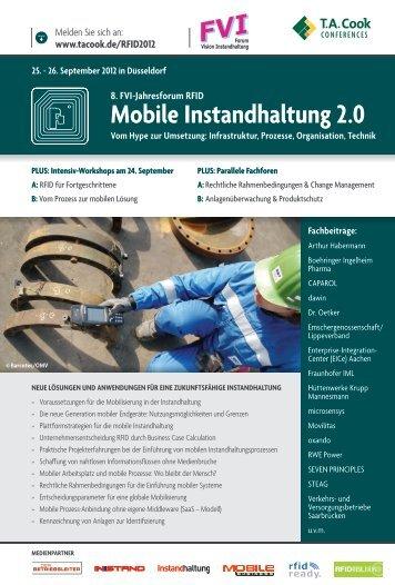 Mobile Instandhaltung 2.0 - microsensys GmbH