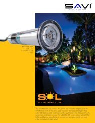 SAVI Melody SOL Brochure - Next Step Products