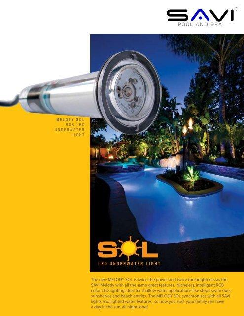Savi Melody Sol Brochure Next Step Products