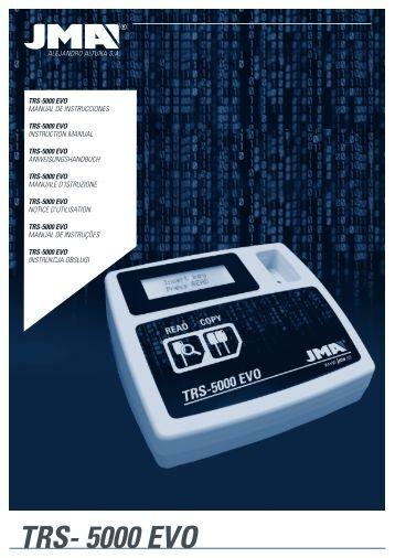 TRS-5000 EVO Manual de instrucciones