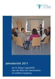Jahresberichte der Familienbüros - Markt Meitingen