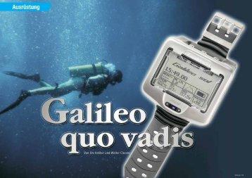 Galileo Sol - DiveInside