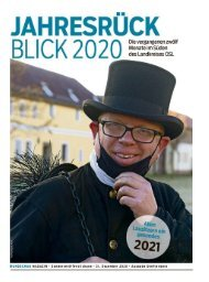 Jahresrückblick Senftenberg 2020