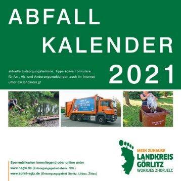 Abfallkalender des Landkreises Görlitz