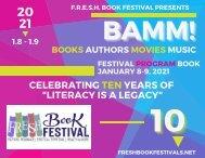 F.R.E.S.H. Book Festival 2021 - BAMM Program Book