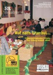 Auf nach Istanbul... - SOL - Menschen für Solidarität, Ökologie und ...