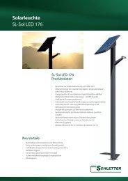 Solarleuchte SL-Sol LED 176 - Schletter GmbH