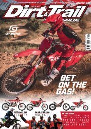 Dirt and Trail ONLINE DEC 2020