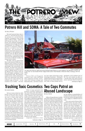 Potrero Hill and SOMA: A Tale of Two Commutes ... - The Potrero View
