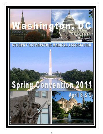 FINAL SOMA Spring 2011 Convention Book - American Osteopathic ...