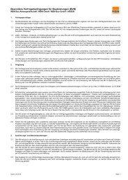 Besondere Vertragsbedingungen für Bauleitungen (BVB) Stand-09-2019