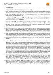 Besondere Vertragsbedingungen für Bauleitungen (BVB) Stand-12-2020