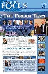 SPECTACULAR CALATRAVA - Technion Focus Magazine