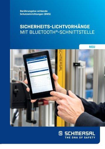 SICHERHEITS-LICHTVORHÄNGE MIT BLUETOOTH-SCHNITTSTELLE [DE]