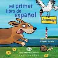 Mi primer libro de español – Animales (Blick ins Buch)