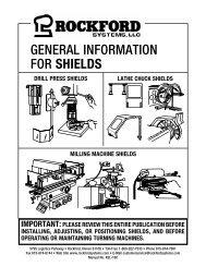 KSL-160   General Information for Shields