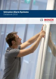 Data book - Bosch Security Systems