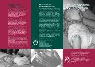 Klientenflyer Kinder - Craniosacral Integration