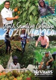 Vitalis Semillas Catalogue Mexico 2021