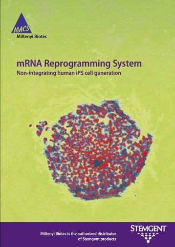 Stemgent mRNA Reprogramming System - Miltenyi Biotec