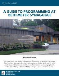 BMS Winter Spring Programming Guide