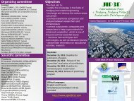 About the event Themes Participation to JIP3D Initial program Call ...