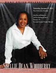 Shellie Woodberry Memorial Program