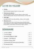 LE MOT DU MAIRE - Mairie de Palhers - Page 3
