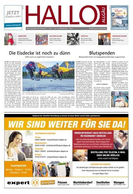 Hallo-Allgäu  vom Samstag, 09.Januar