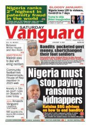 09012021 - Nigeria must stop paying ransom to kidnappers