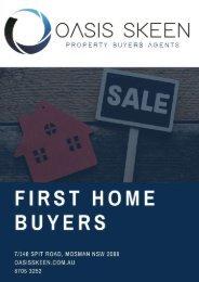 First Home Buyers - Oasis Skeen Property Buyers