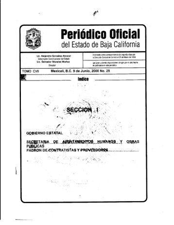 .M - Gobierno del Estado de Baja California