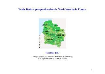 Trade Book et prospection dans le Nord Ouest de la France